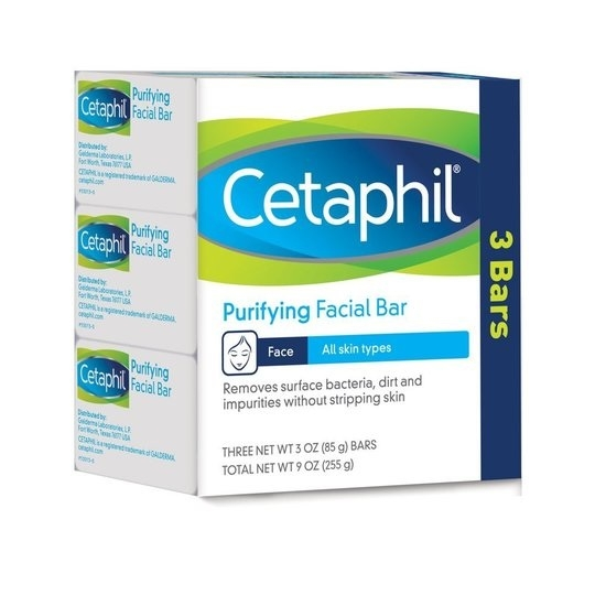 Cetaphil Purifying Facial Bar Soap For All Skin Types 3