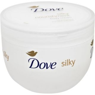 dove silky nourishment body cream moisturizer soft skin deep