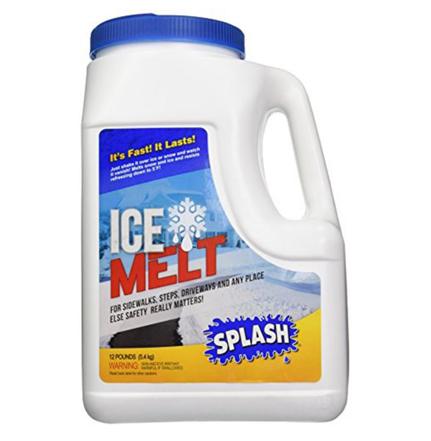 Splash Ice Melt Safe Snow Amp Ice Melter Salt Pellets For