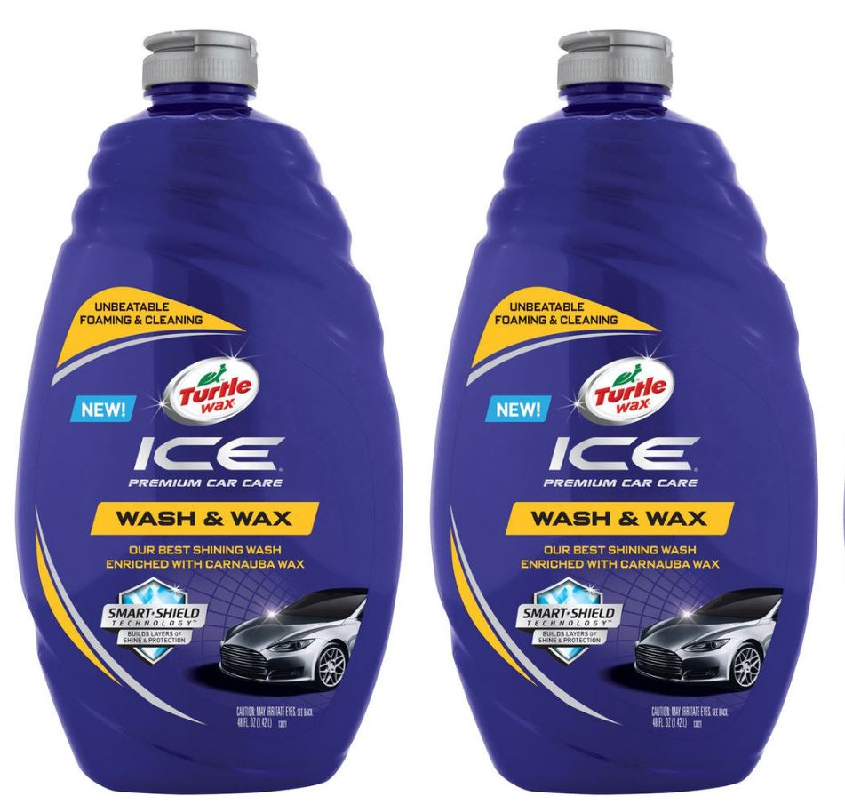 2 Pack Turtle Wax Ice Premium Dirt Clean Car Care Wash